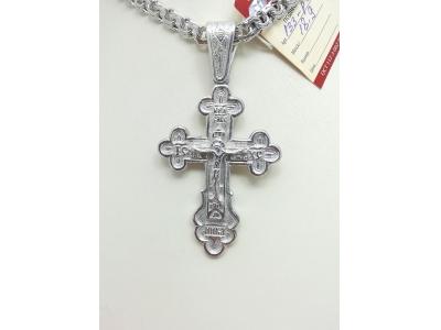 Серебро крест дк020620-199 18,90гр