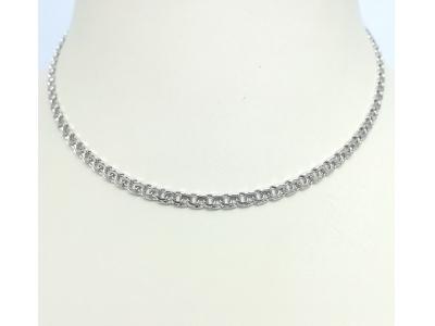 Серебро цепь дк240920-43 12,50гр