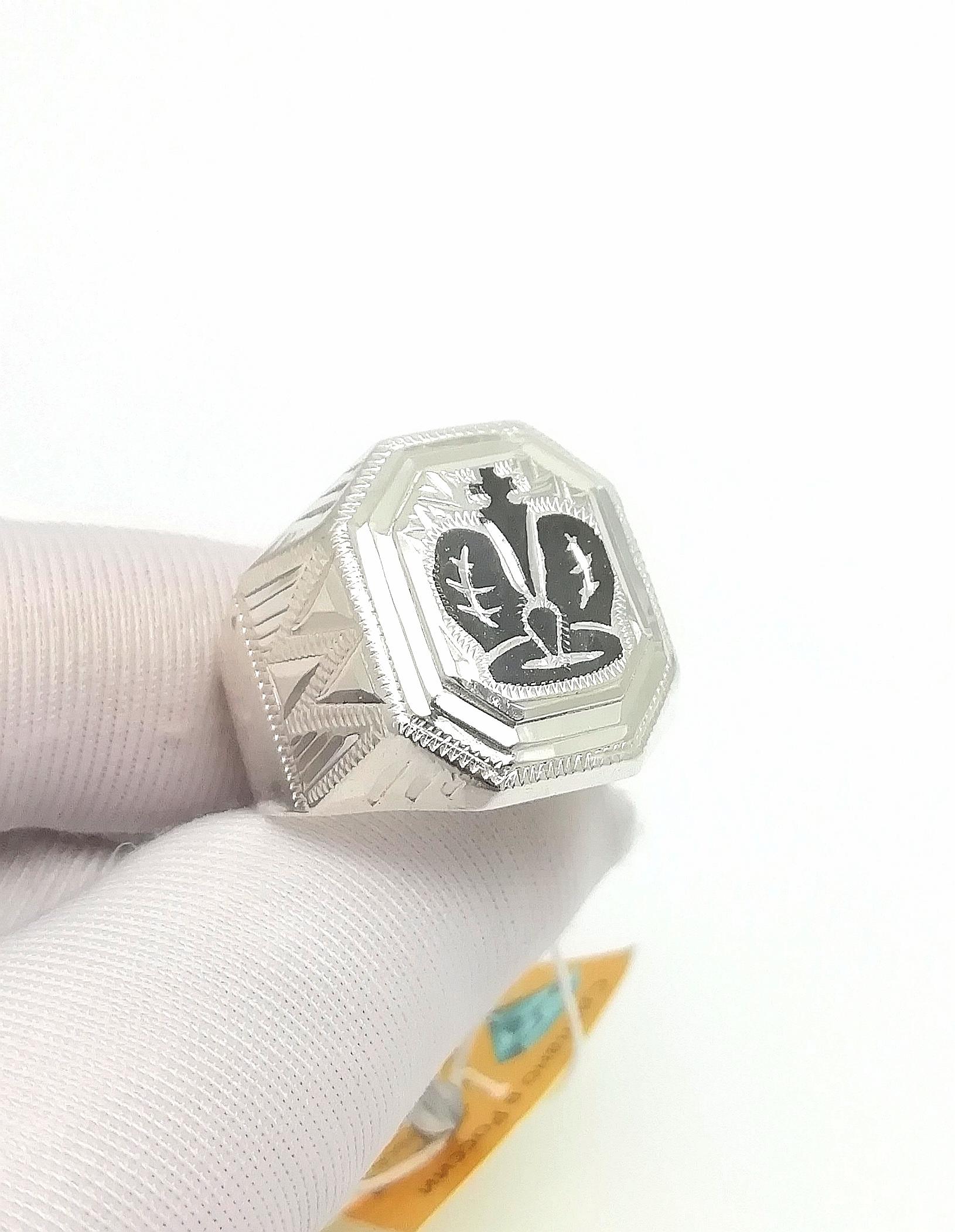Серебро кольцо дк240920-331 9,70гр