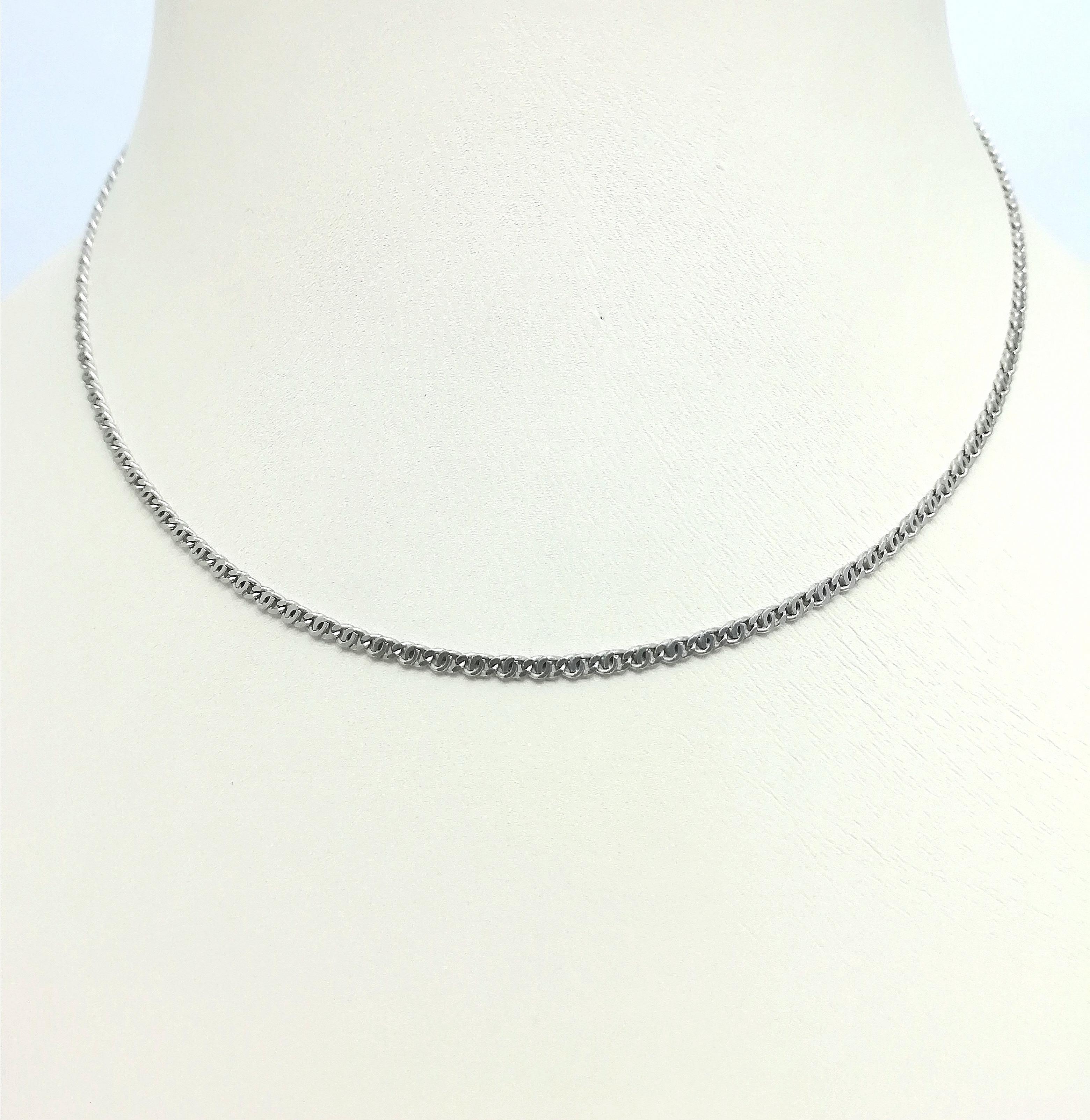 Серебро цепь дк011119-54 5,10гр