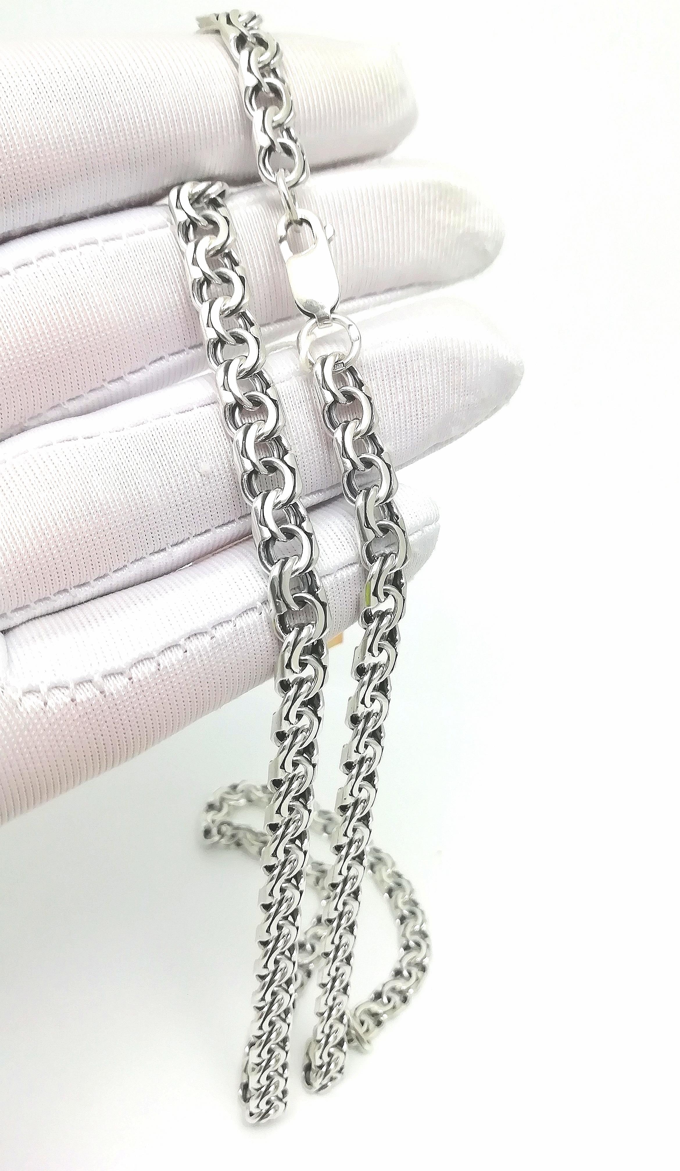 Серебро цепь дк240920-142 31,40гр