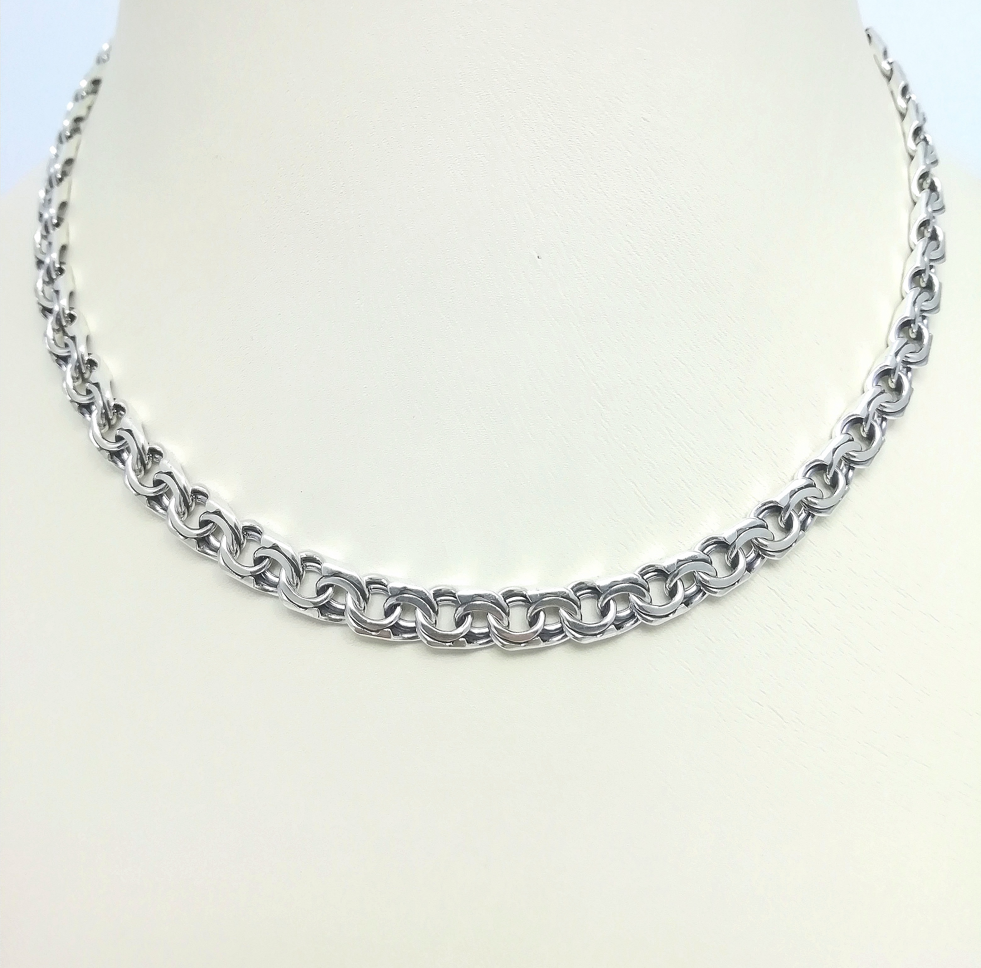 Серебро цепь дк240920-144 32,50гр