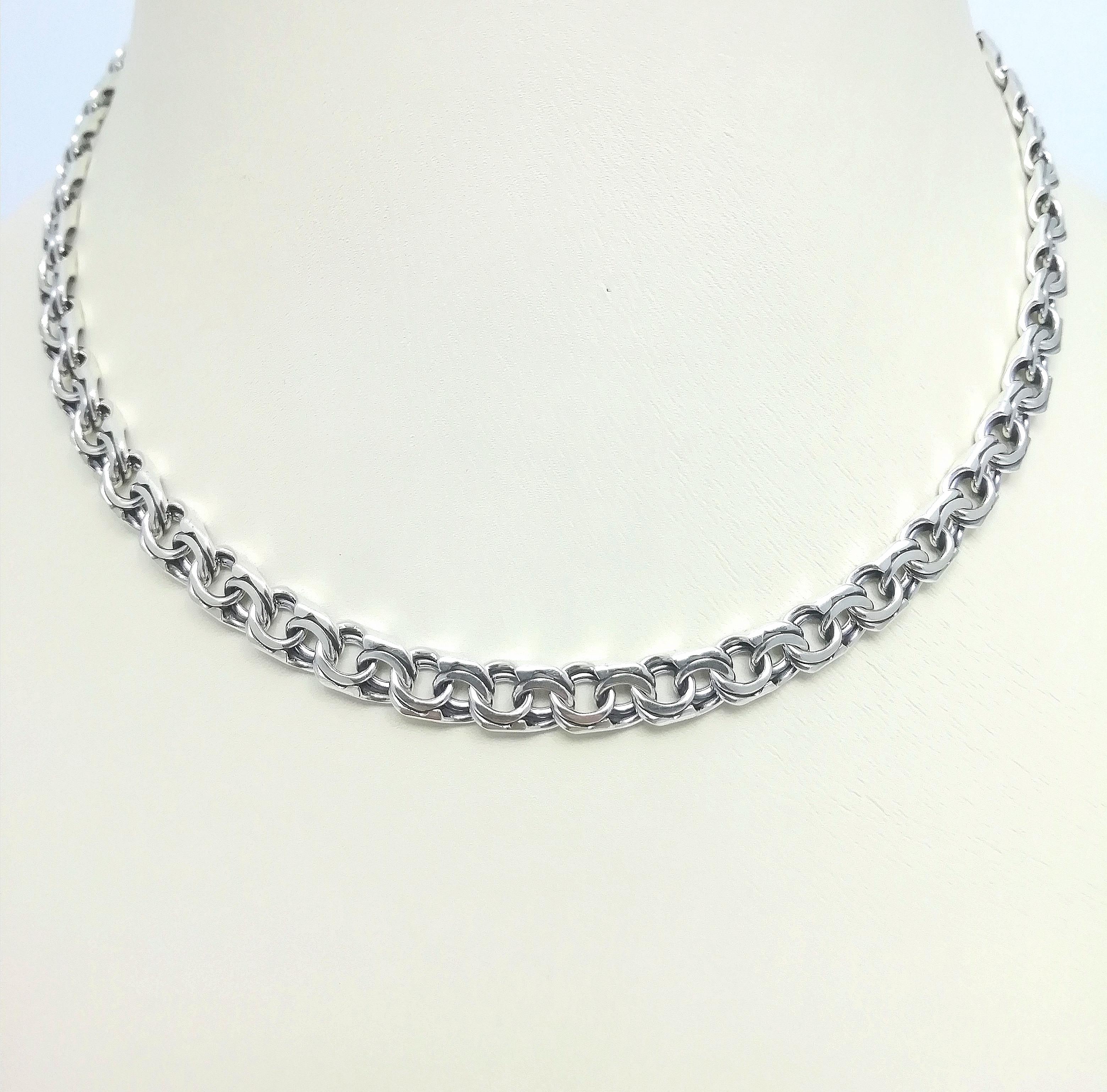 Серебро цепь дк240920-148 35,60гр