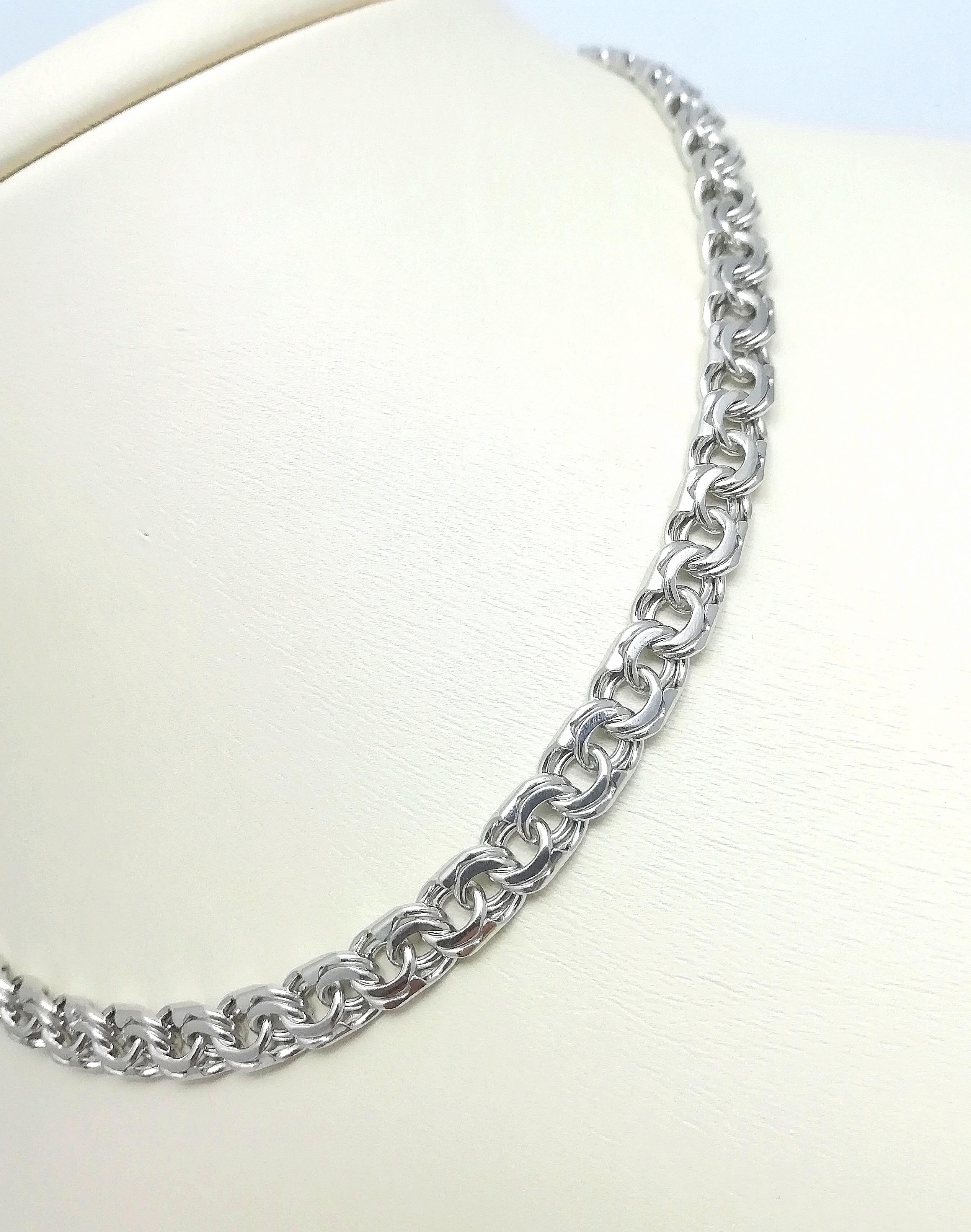 Серебро цепь дк240920-149 29,40гр