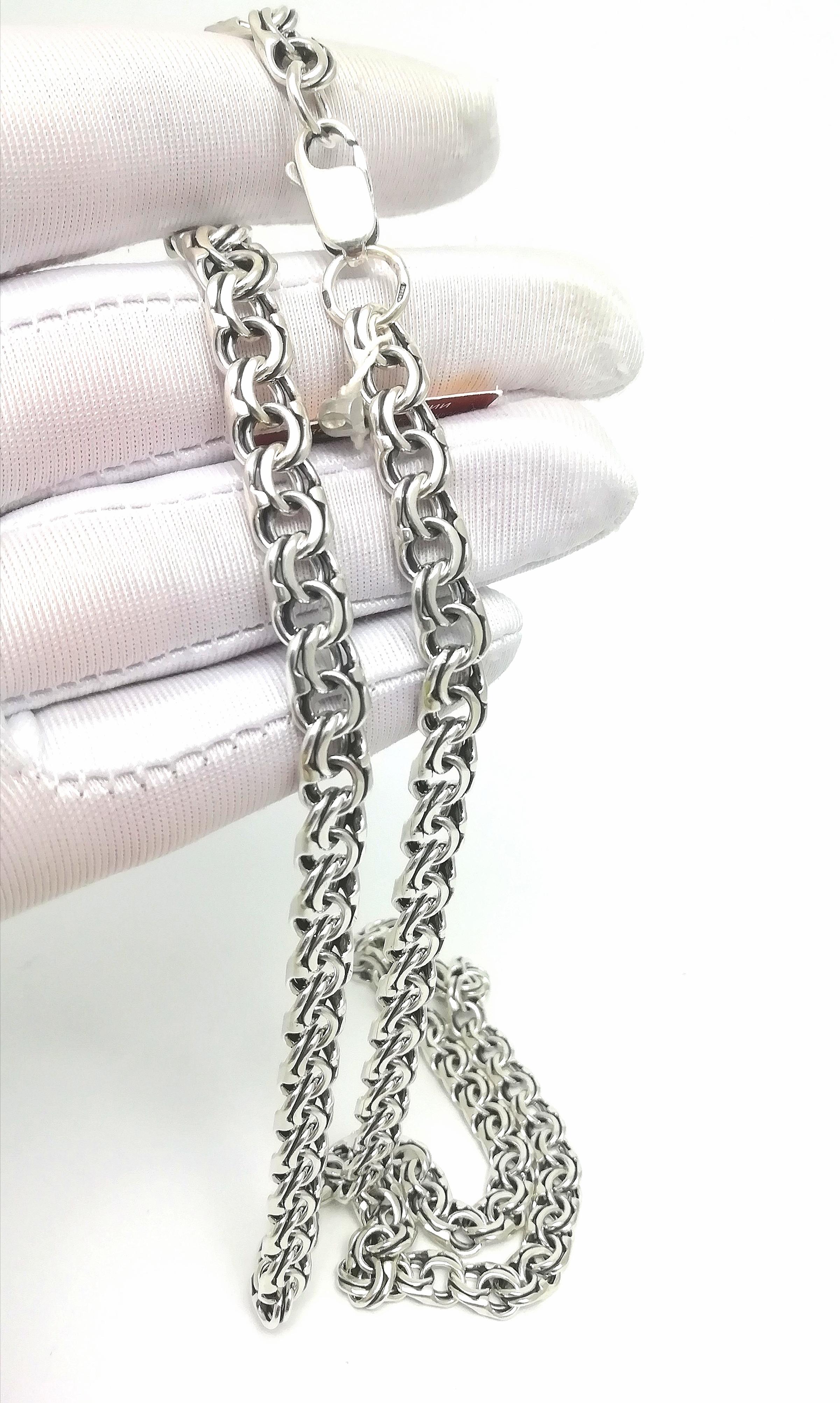 Серебро цепь дк240920-156 44,10гр