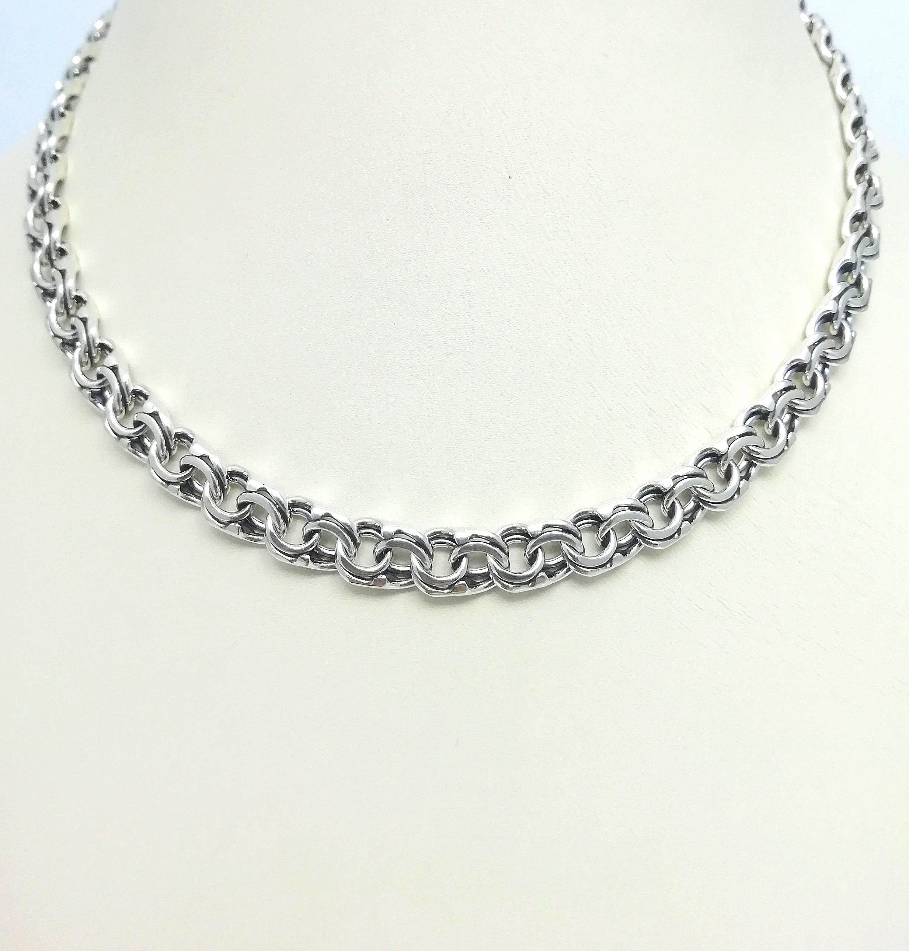 Серебро цепь дк240920-157 47,90гр