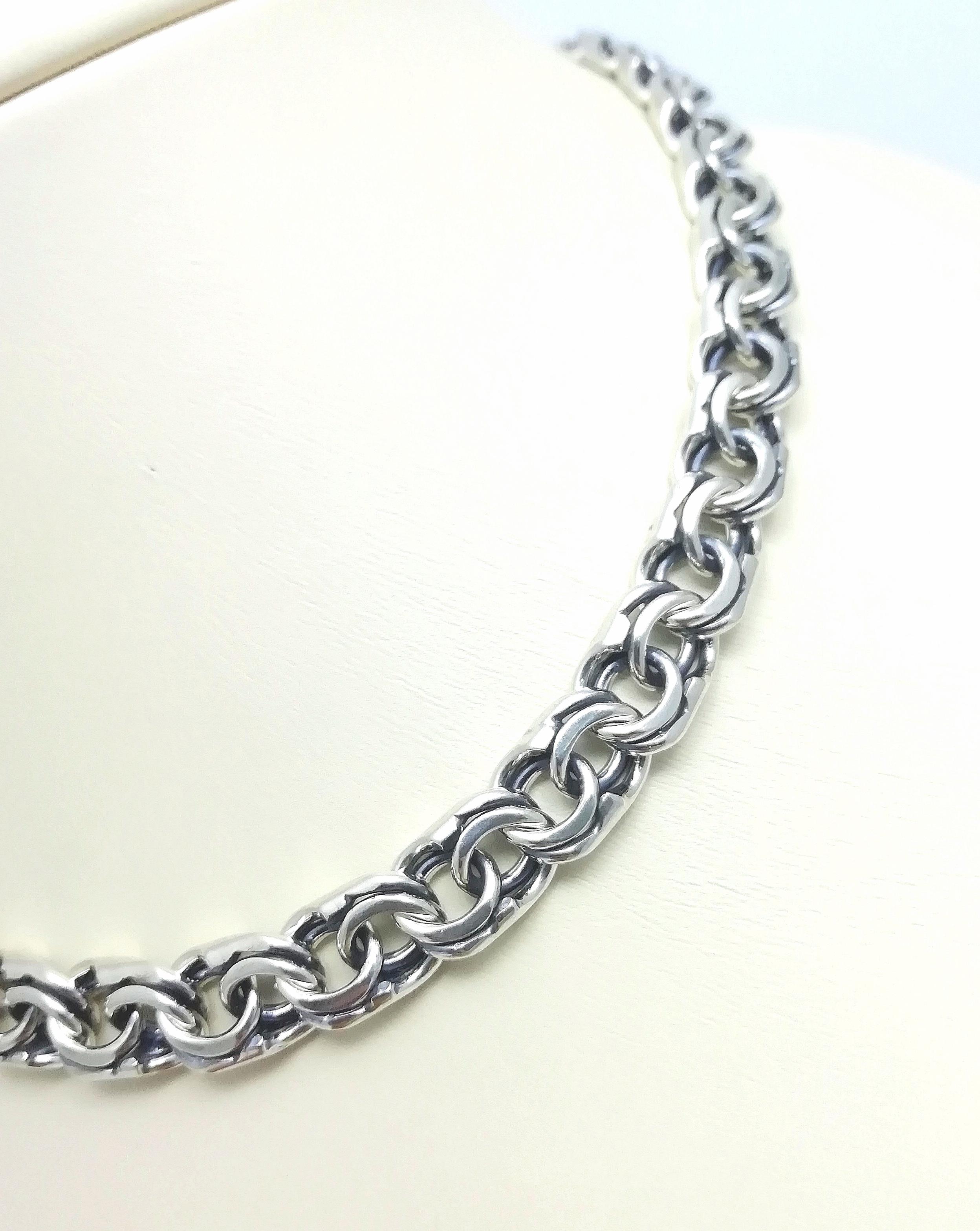 Серебро цепь дк240920-165 92,60гр
