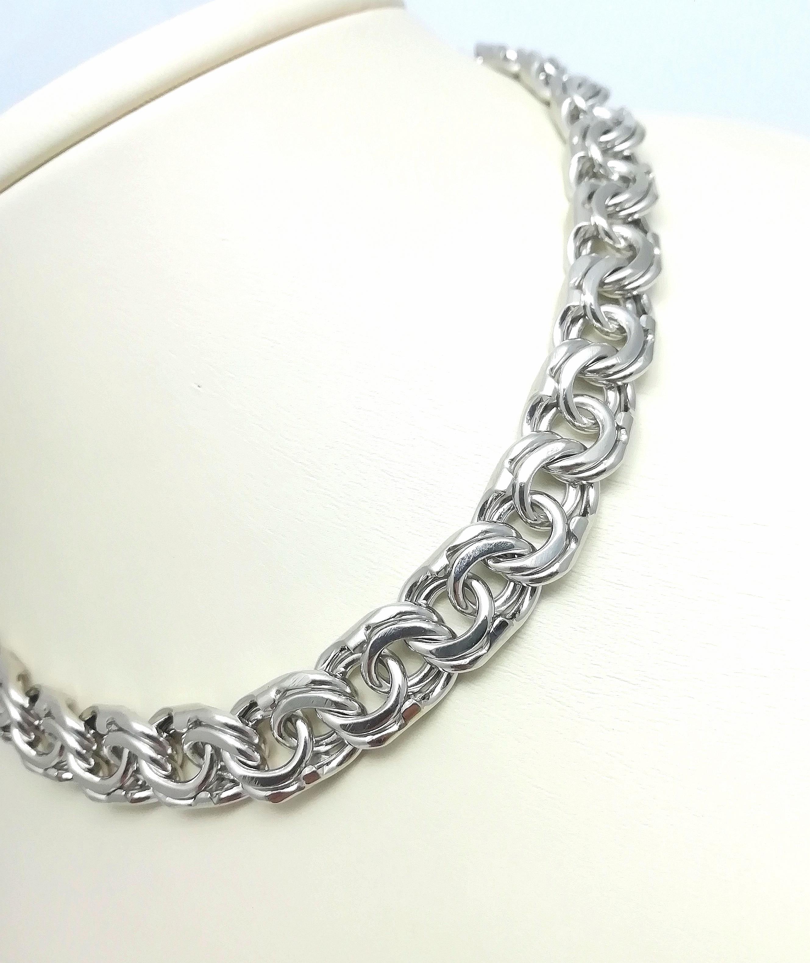 Серебро цепь дк240920-172 114,70гр