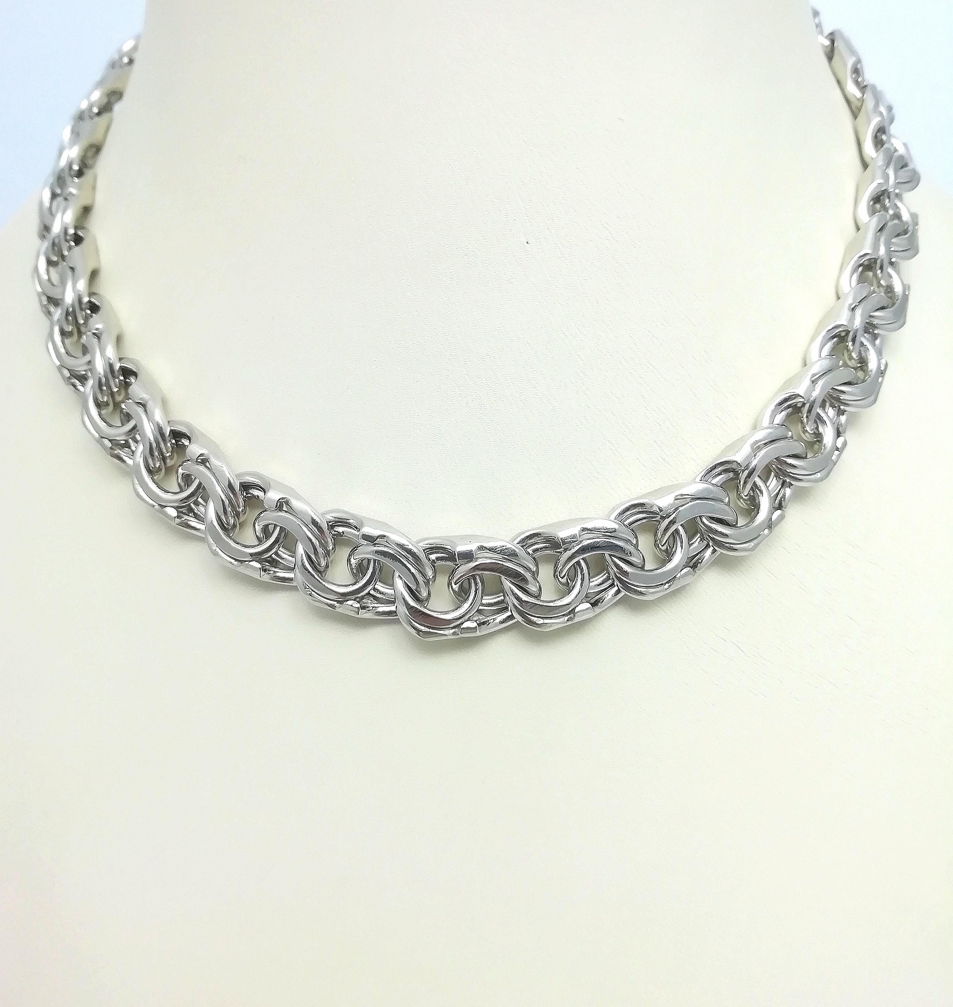 Серебро цепь дк240920-174 134,10гр