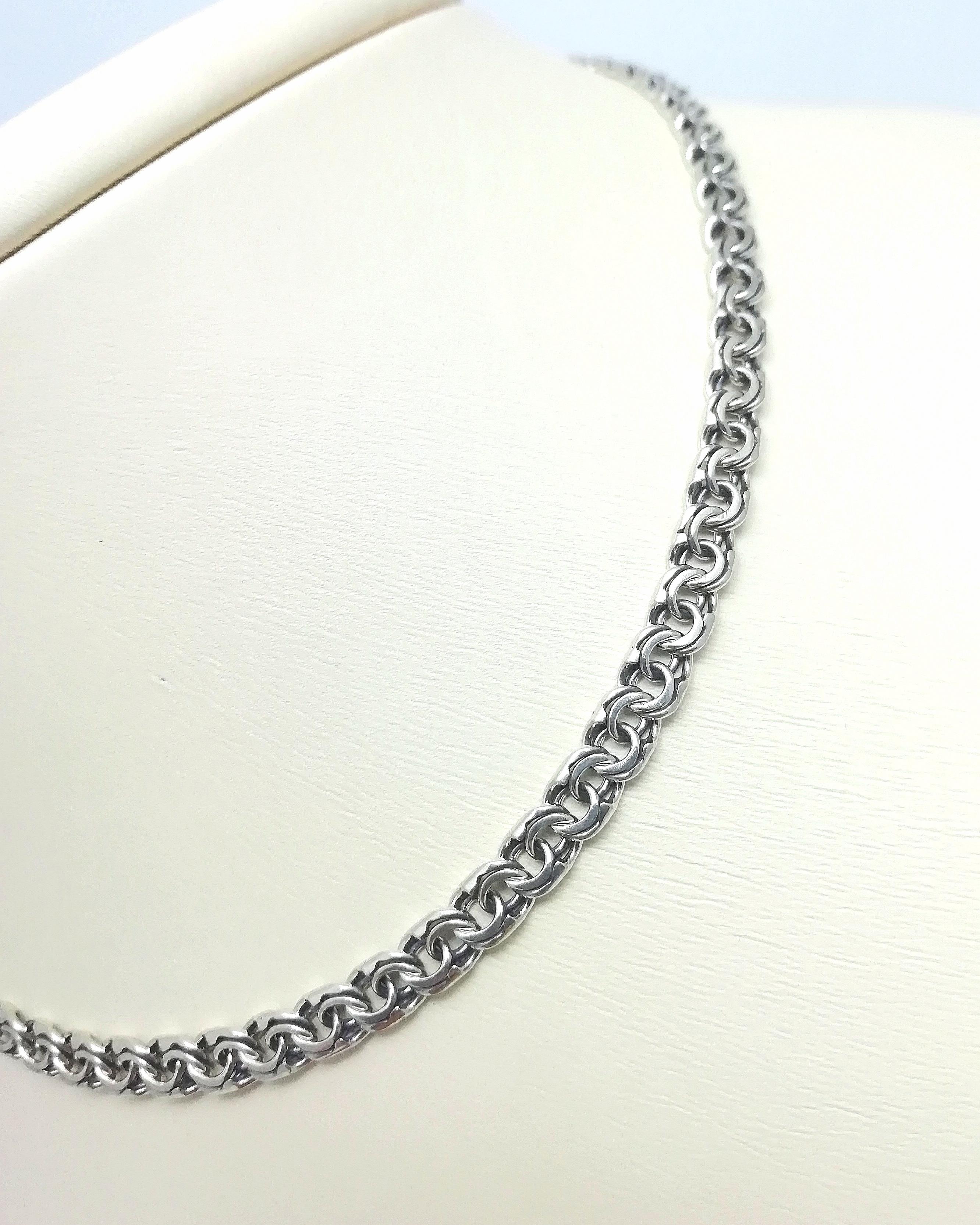 Серебро цепь дк240920-66 20,70гр