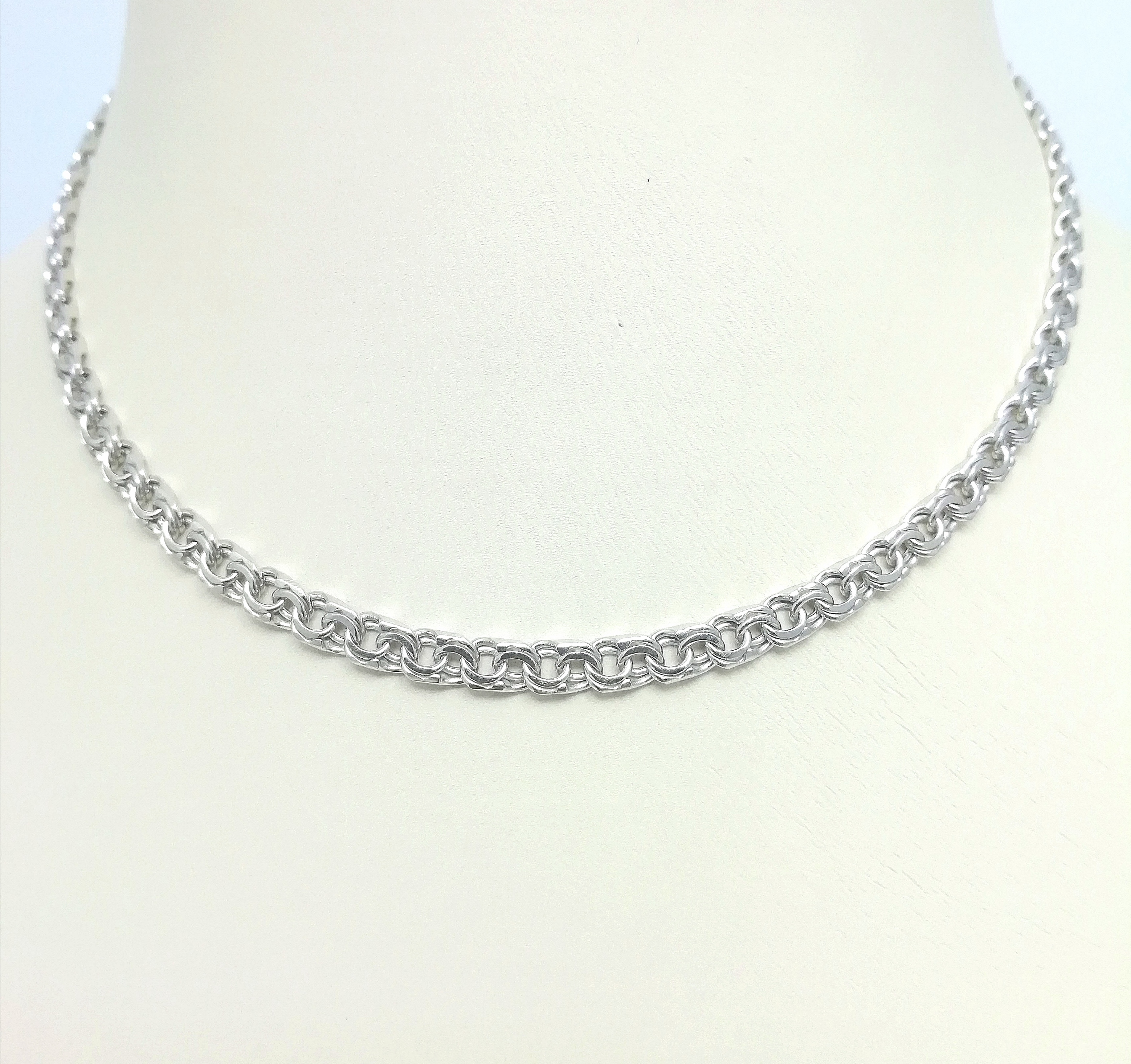Серебро цепь дк240920-76 15,00гр