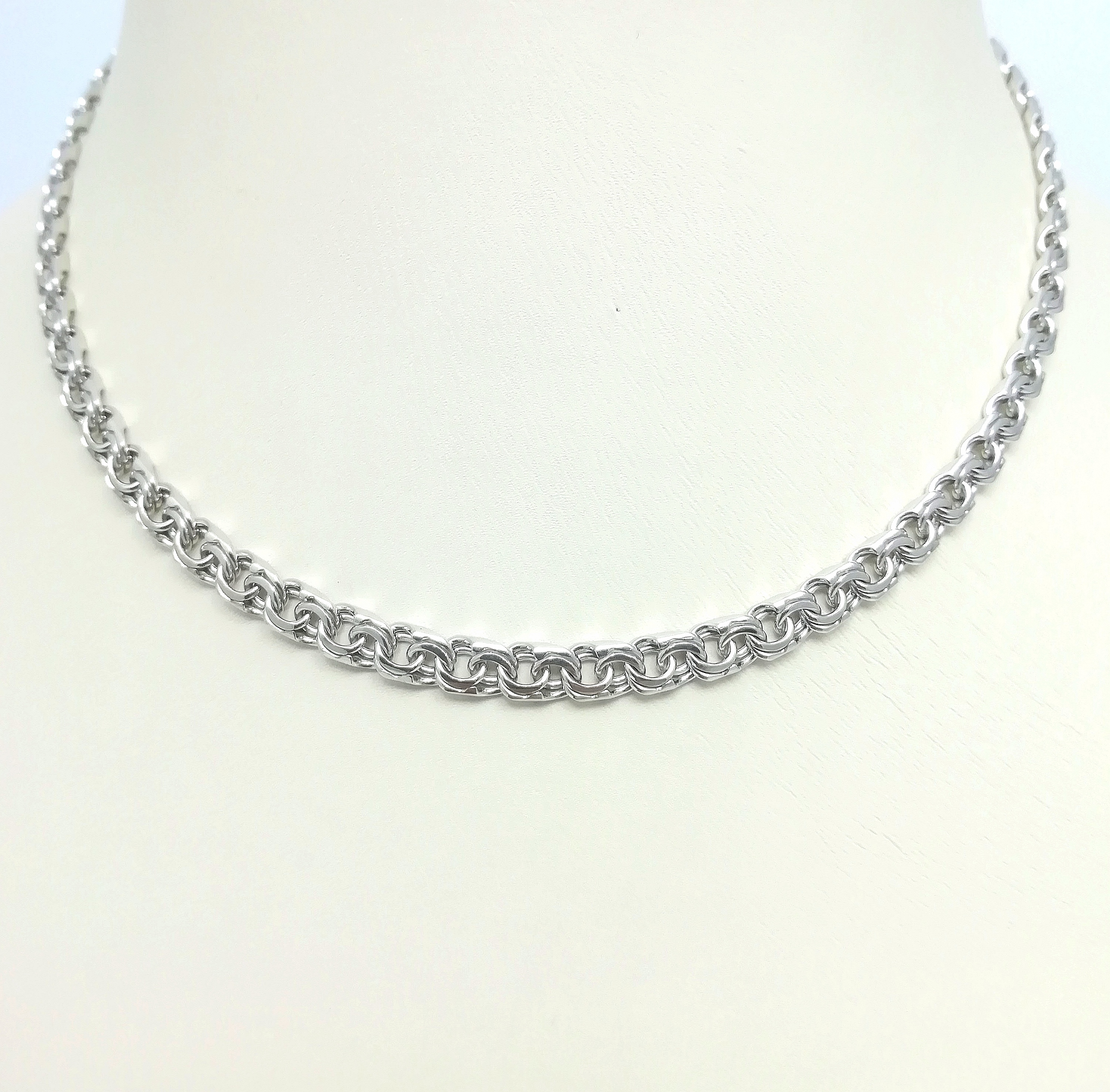 Серебро цепь дк240920-109 19,50гр