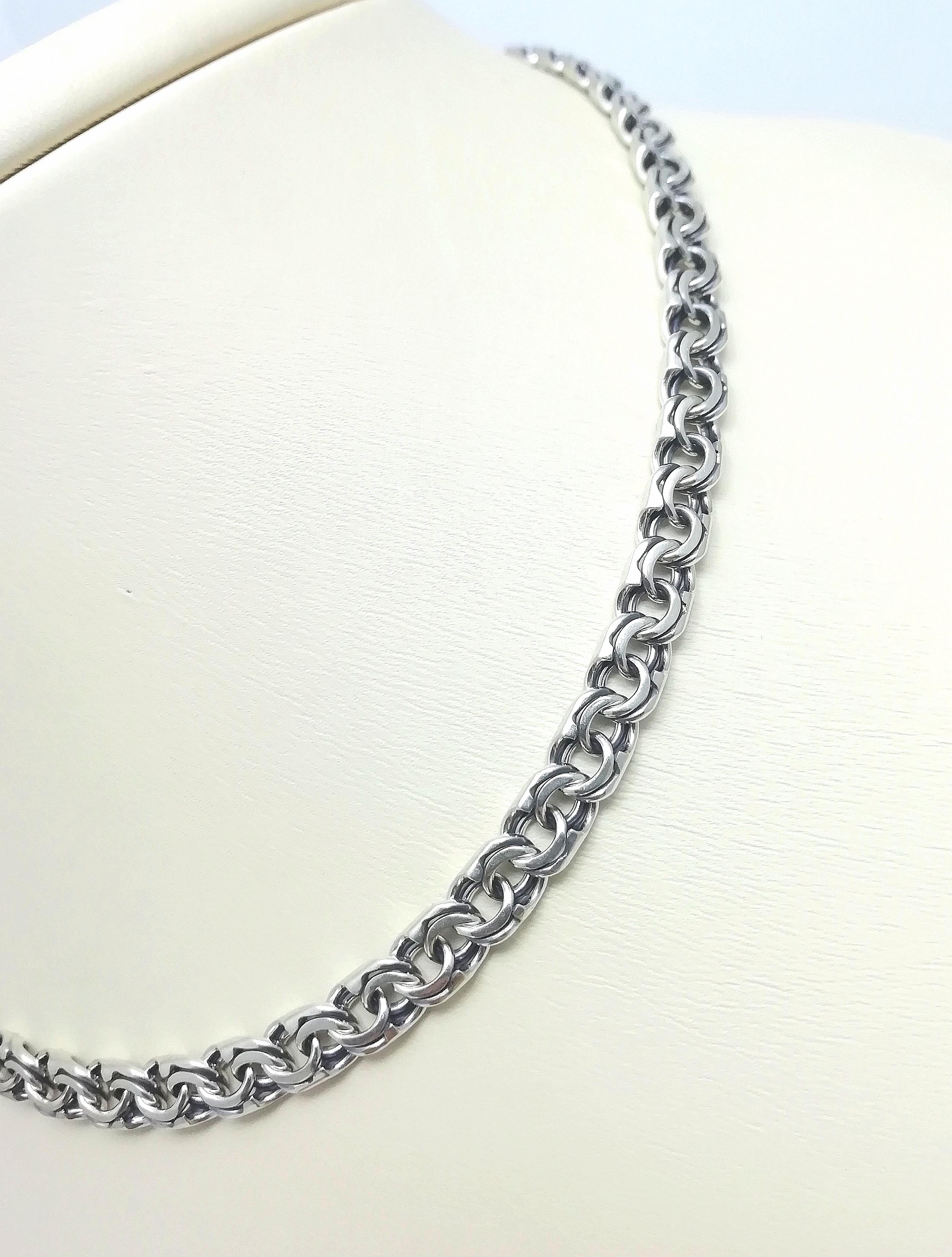 Серебро цепь дк240920-126 29,30гр